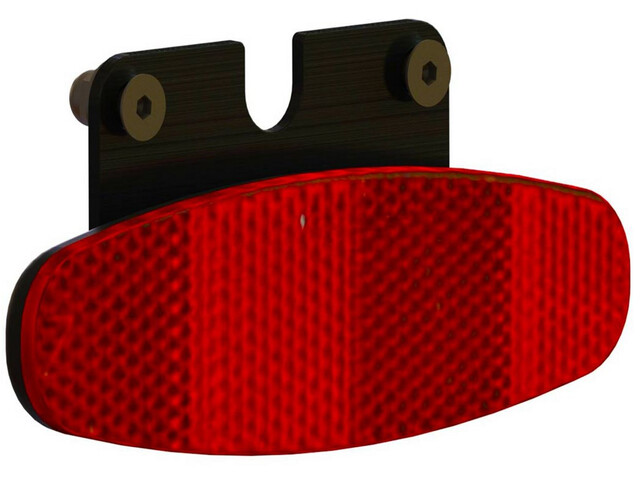 Supernova E3 Tail Light rood/zwart